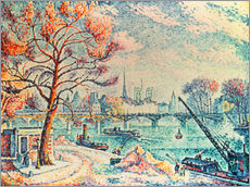 Gallery Print  Paris, le Pont des Arts - Paul Signac
