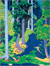 Gallery Print  Waldinneres - Ernst Ludwig Kirchner