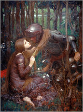 Gallery Print  La Belle Dame sans Merci - John William Waterhouse
