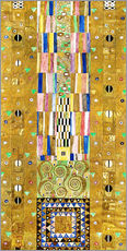 Wandsticker  Stoclet-Fries: Ritter - Gustav Klimt
