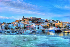 HADYPHOTO by Hady Khandani - DAYBREAK IBIZA OLD CITY HARBOUR VIEW