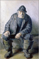 Wandsticker  Skagen Fisherman - Michael Peter Ancher