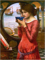 Acrylglasbild  Schicksal - John William Waterhouse