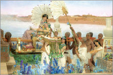 Gallery Print  Auffindung Moses durch die Tochter des Pharao - Lawrence Alma-Tadema