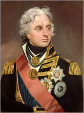 Wandsticker  Lord Nelson - Sir William Beechey