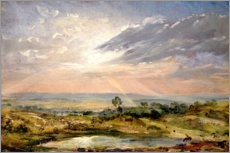 Gallery Print  Branch Hill Teich, Hampstead - John Constable
