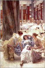 Wandsticker  Die Caracalla-Thermen - Lawrence Alma-Tadema