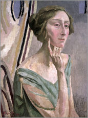 Wandsticker  Edith Sitwell - Roger Fry