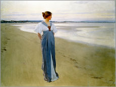 Wandsticker  Am Strand - William Henry Margetson