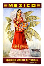 Gallery Print  Mexiko - Tehuantepec - Travel Collection