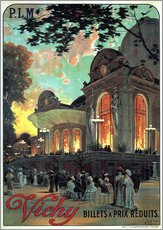 Gallery Print  Vichy - Billets a Prix Reduits - Advertising Collection
