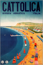 Gallery Print  Italien - Cattolica Riviera - Travel Collection