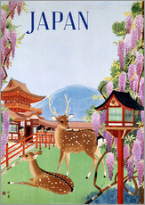Gallery Print  Japan Vintage Touristik - Travel Collection