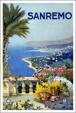 Gallery Print  Italien - Sanremo - Travel Collection