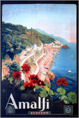 Gallery Print  Amalfi, Italien - Travel Collection