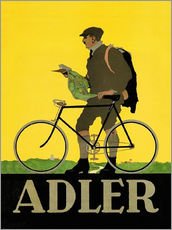Gallery Print  Adler Fahrräder - Advertising Collection
