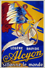 Wandsticker  Alcyon - sillonne le monde - Advertising Collection