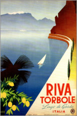 Premium-Poster  Italien ? Riva Torbole (Lago di Garda) - Travel Collection