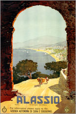 Gallery Print  Italien - Alassio - Travel Collection
