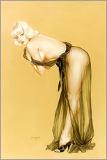Wandsticker  Vargas Pin-Up-Mädchen, September 1962 - Alberto Vargas