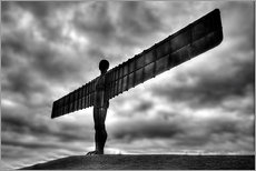 Wandsticker  Angel Of The North - Simon West