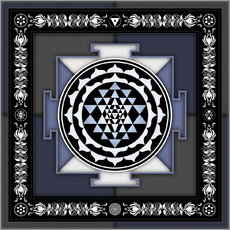 Wandsticker Sri Yantra - Artwork II