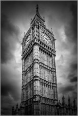 Wandsticker  Big Ben London - Melanie Viola