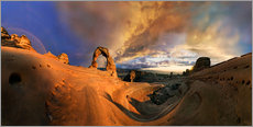 Gallery Print  Delicate Arch Sonnenuntergang - Michael Rucker