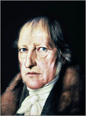 Wandsticker  Georg Wilhelm Friedrich Hegel - Jacob Schlesinger