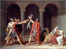 Wandsticker  Der Schwur der Horatier - Jacques-Louis David