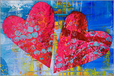 Wandsticker  Colorful Love - Andrea Haase