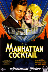 Wandsticker  Manhattan Cocktail - Advertising Collection