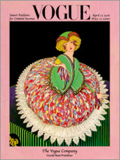 Wandsticker  Vogue Cover 1916 - Advertising Collection