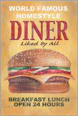 Gallery Print  World Famous Diner - Georg Huber