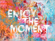 Wandsticker Enjoy the moment