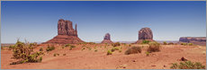 Wandsticker Monument Valley USA Panorama I