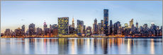 Wandsticker  New York Midtown Manhattan Skyline - Sascha Kilmer