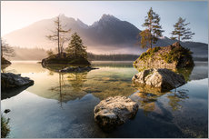 Wandsticker  Hintersee Morgenstimmung - Richard Grando