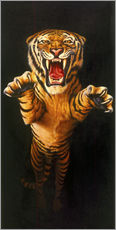Gallery Print  Leaping Tiger - Garry Walton