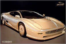 Wandsticker  Jaguar XJ220 - George Marshall