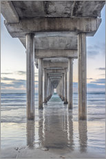 Wandsticker  Scripps Pier in La Jolla - Rob Tilley