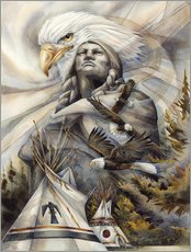 Wandsticker  Eternal Spirits - Jody Bergsma