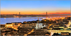 Gallery Print  Lissabon Panorama - FineArt Panorama