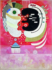 Gallery Print  Entre deux - Wassily Kandinsky