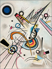 Gallery print  Diagonal - Wassily Kandinsky