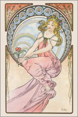 Wandsticker  The Arts ? Painting - Alfons Mucha