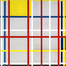 Gallery Print  New York City - Piet Mondriaan