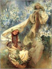 Gallery Print  Lilienmadonna - Alfons Mucha