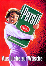 Wandsticker  Persil - Aus Liebe zur Wäsche - Advertising Collection