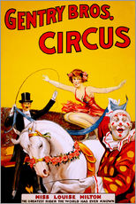 Gallery Print  Gentry Bros  Circus - Advertising Collection